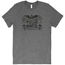 Ernie Ball Music Man Original Slinky Deep Heather T-Shirt X Large Heather Gray