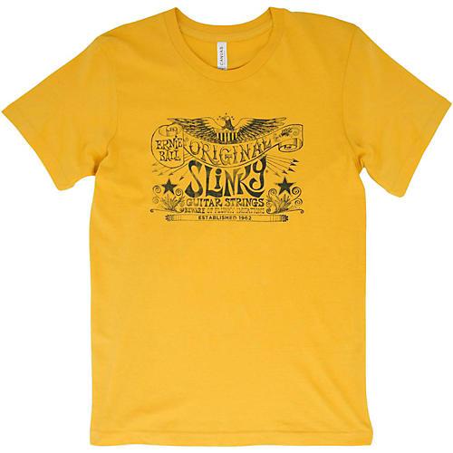 Ernie Ball Original Slinky Maize Yellow T-Shirt X Large Yellow