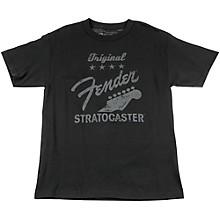 Fender Original Strat T-Shirt, Charcoal
