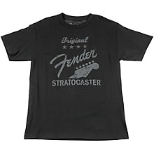 Fender Original Strat T-Shirt, Charcoal