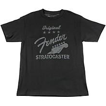 Fender Original Strat T-Shirt, Charcoal X Large