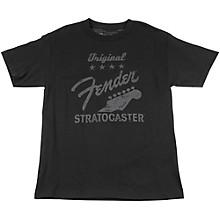 Fender Original Strat T-Shirt, Charcoal XX Large