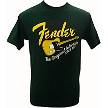 Fender Original Tele T-Shirt Green Small