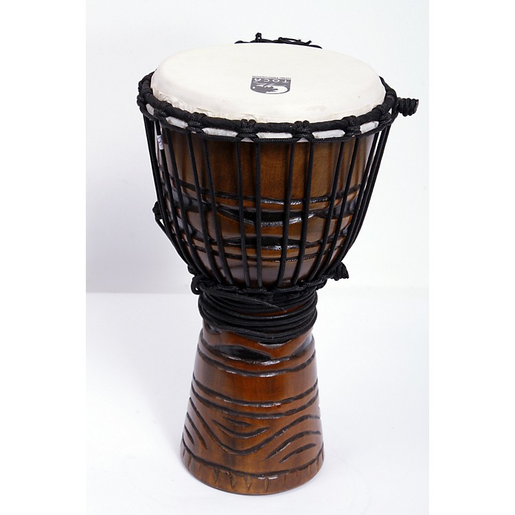 Toca Origins Djembe African Mask 8 Inch