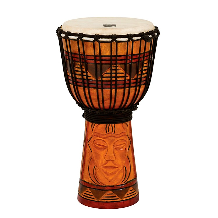 Toca Origins Djembe Tribal Mask 8 Inch Style