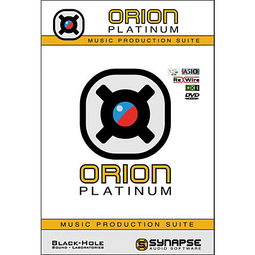 Synapse Audio Software Orion Platinum Virtual Studio