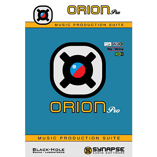 Synapse Audio Software Orion Pro Virtual Studio