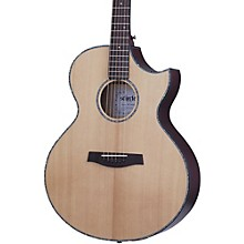Schecter Guitar Research Orleans Stage Acoustic-Electric Guitar Natural