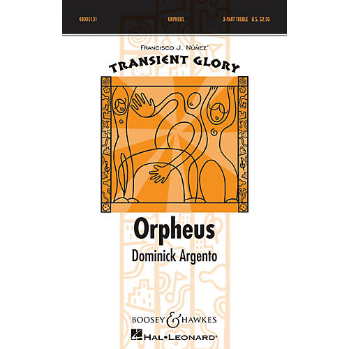 Boosey and Hawkes Orpheus (SSA a cappella) SSA A Cappella composed by Dominick Argento-thumbnail
