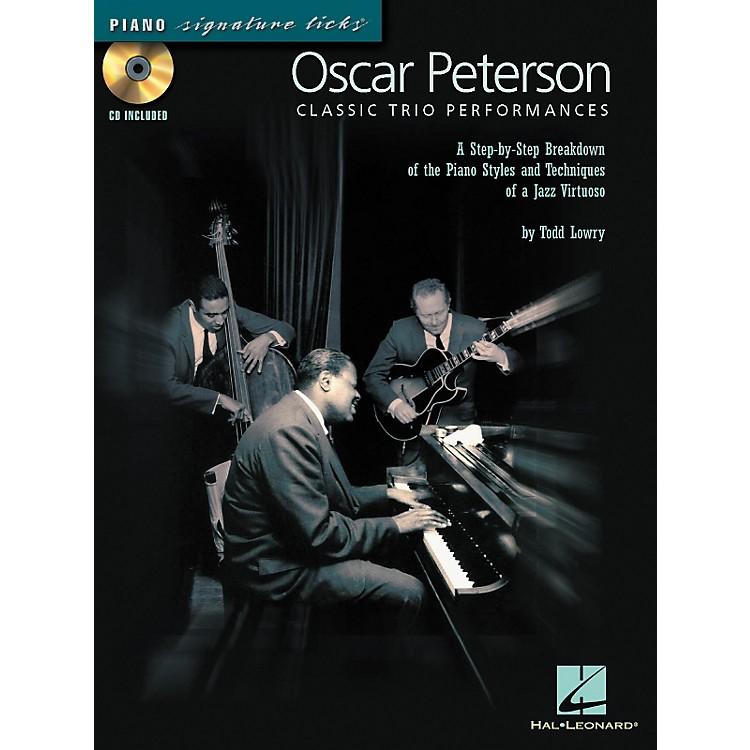 Hal LeonardOscar Peterson Classic Trio Performances - Piano Signature Licks Series (CD/Booklet)