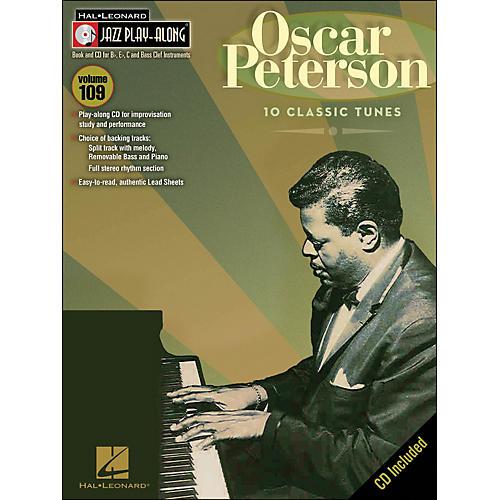 Hal Leonard Oscar Peterson Jazz Play- Along Volume 109 Book/CD-thumbnail