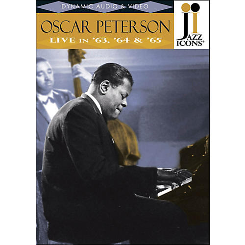 Hal Leonard Oscar Peterson Live In '63, '64 & '65 Jazz Icons DVD