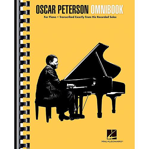 Hal Leonard Oscar Peterson Omnibook For Piano