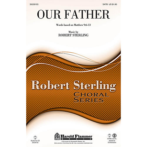 Shawnee Press Our Father SATB composed by Robert Sterling-thumbnail