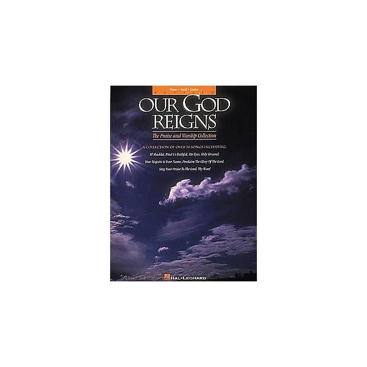 Hal LeonardOur God Reigns - Revised Piano, Vocal, Guitar Songbook