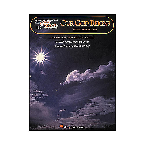 Hal Leonard Our God Reigns E-Z Play 153