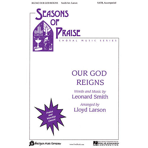 Fred Bock Music Our God Reigns (SATB) SATB arranged by Lloyd Larson-thumbnail