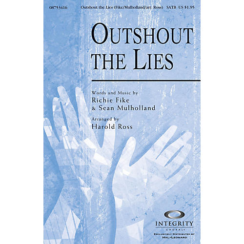Integrity Choral Outshout the Lies CD ACCOMP Arranged by Harold Ross-thumbnail
