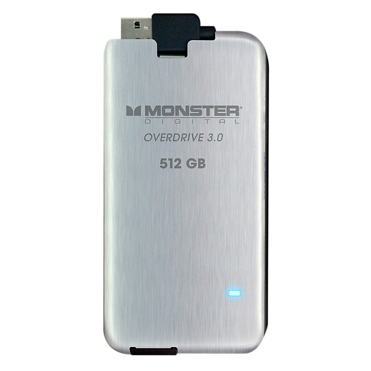 MonsterOverdrive 3.0 SSD 512GB USB3.0, 250MB/s