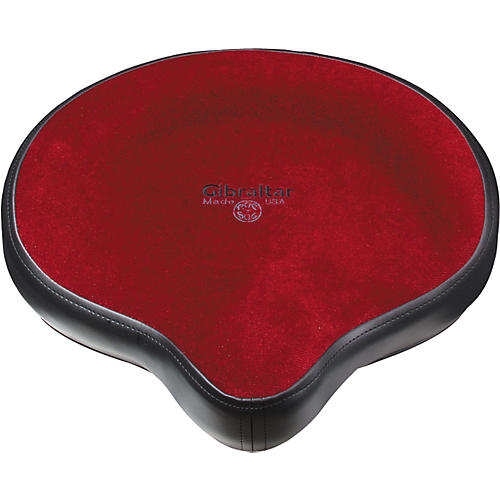 Gibraltar Oversized Motorcycle Seat Red