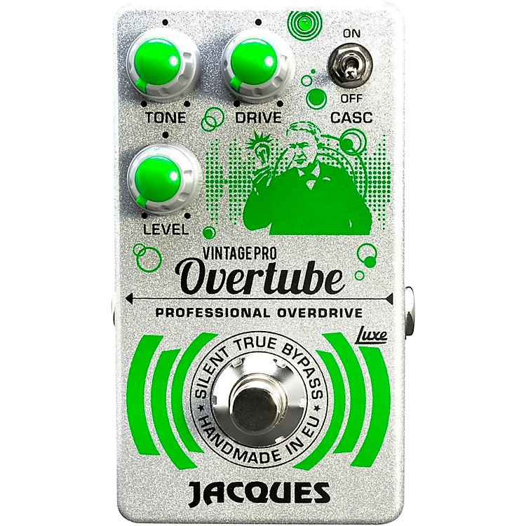 JacquesOvertube Vintage Pro Overdrive Effects Pedal
