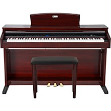 Open Box Williams Overture 2 88-Key Console Digital Piano with Bench (Mahogany)