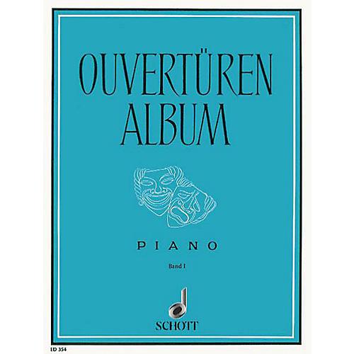 Schott Overture Album 1 Piano Schott Series-thumbnail