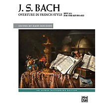 Alfred Overture in French Style, BWV 831 - Book Advanced
