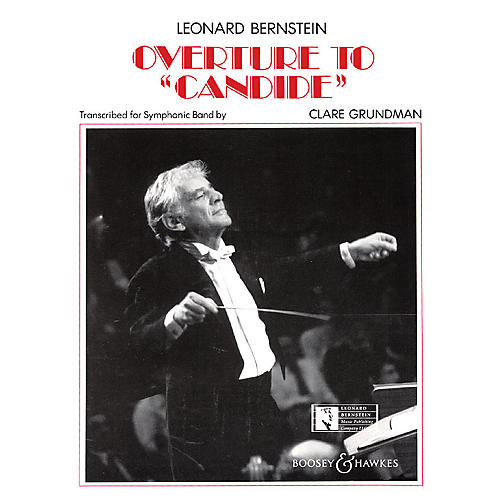 Leonard Bernstein Music Overture to Candide Concert Band Arranged by Clare Grundman-thumbnail