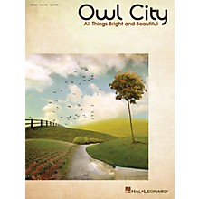 Hal Leonard Owl City - All Things Bright And Beautiful PVG Songbook