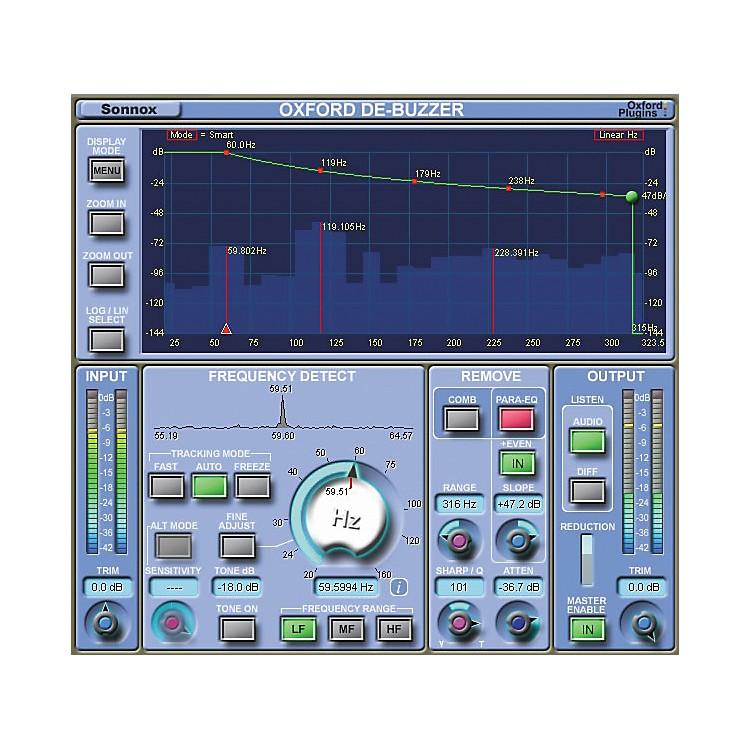 SonnoxOxford DeBuzzer (Native) Software Download