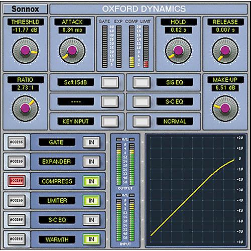 Sonnox Oxford Dynamics HD / TDM Plug-In