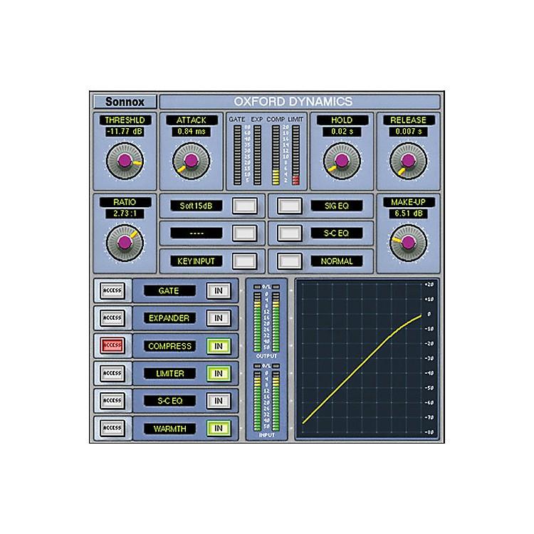 SonnoxOxford Dynamics (Native) Software Download