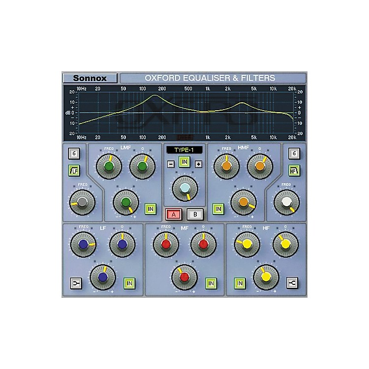 Sonnox Oxford EQ (HD-HDX)