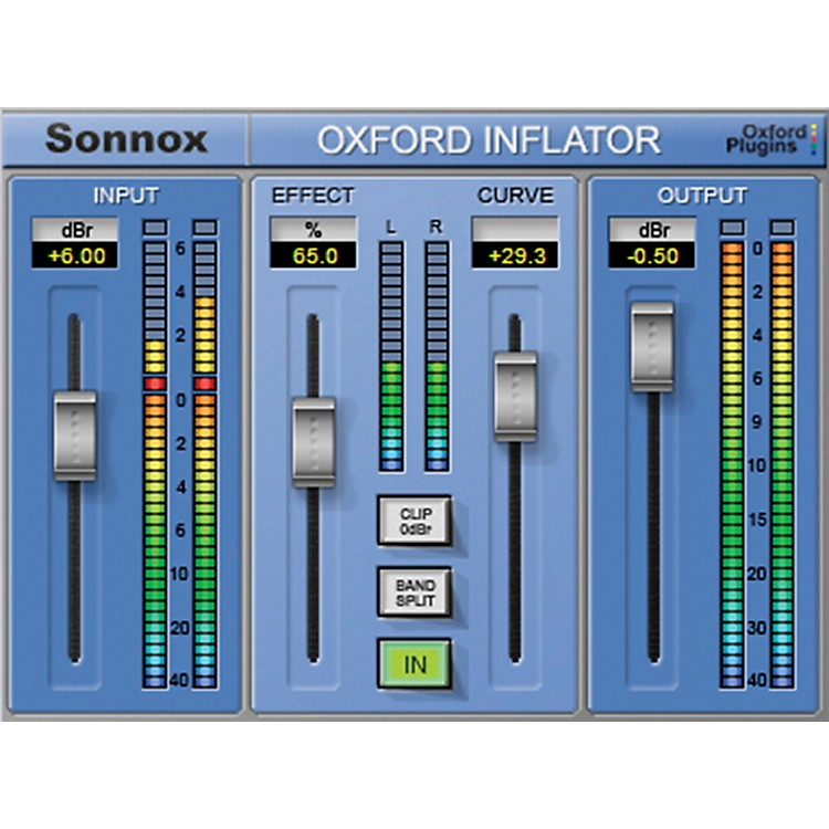Sonnox Oxford Inflator (HD-HDX) Oxford Inflator (Native) Software Download Software Download