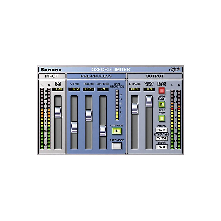 SonnoxOxford Limiter (HD-HDX)