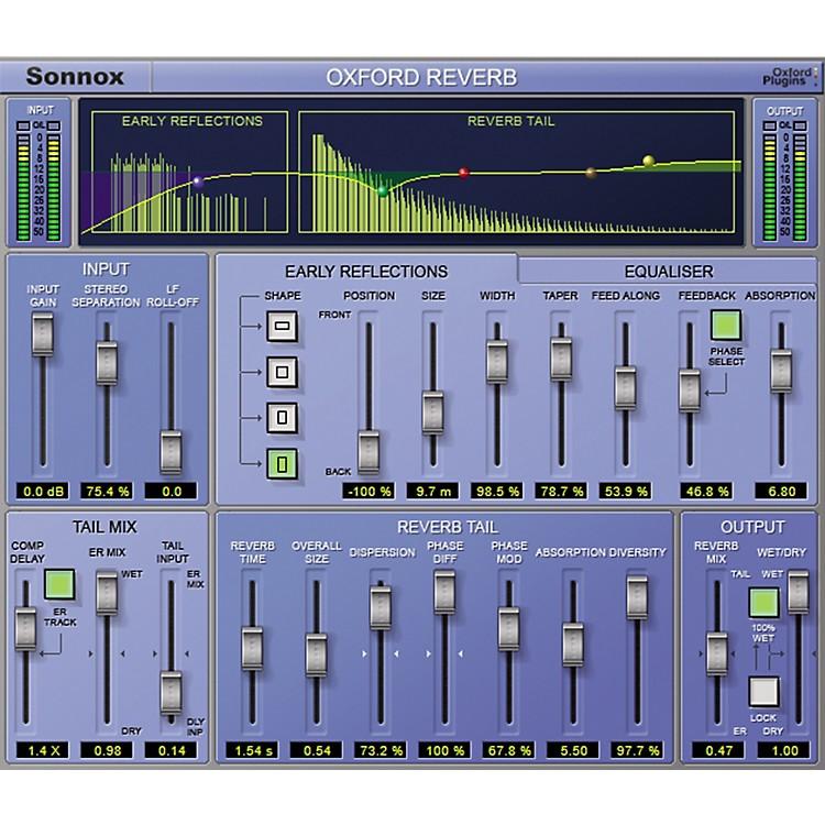 SonnoxOxford Reverb (HD-HDX) Software Download