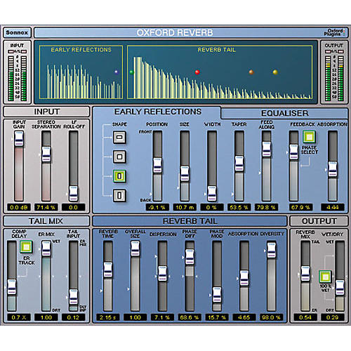 Sonnox Oxford Reverb Native Plug-In-thumbnail