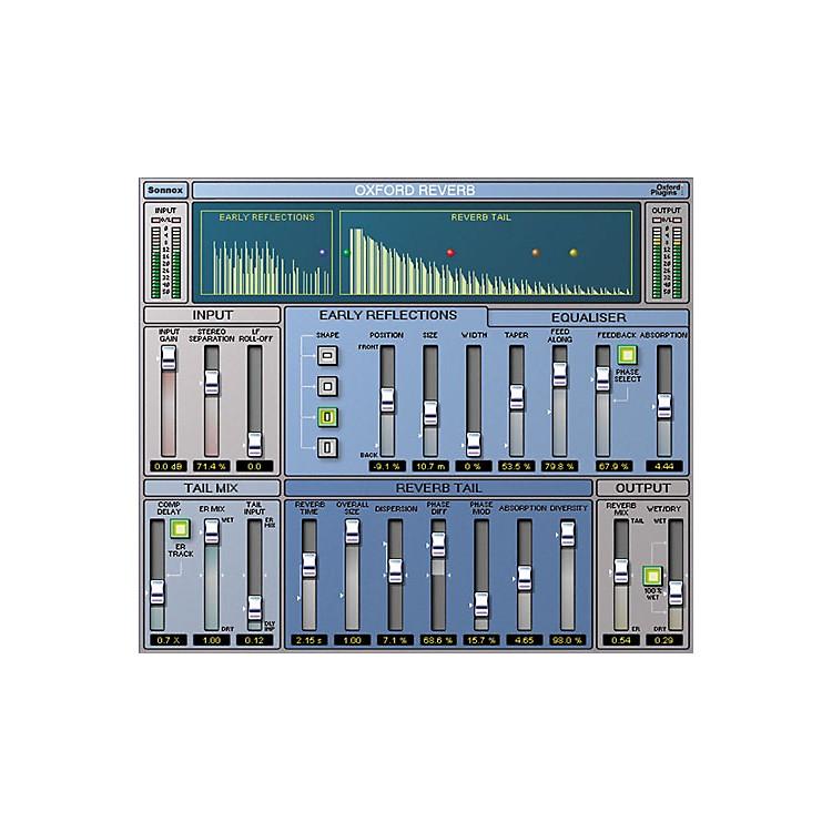 SonnoxOxford Reverb (Native) Software Download
