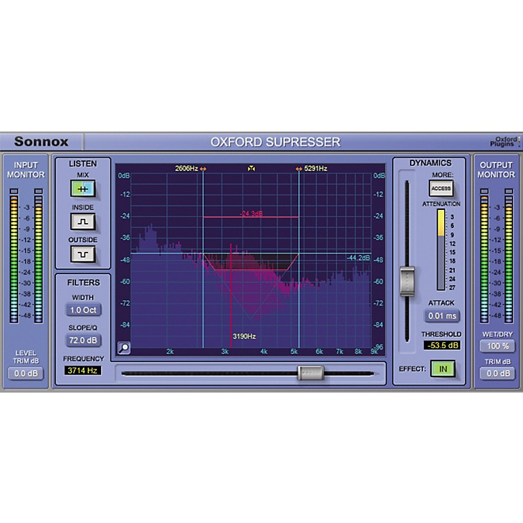 SonnoxOxford SuprEsser (Native) Software Download