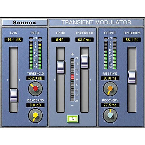 Sonnox Oxford TransMod (HD-HDX) Software Download