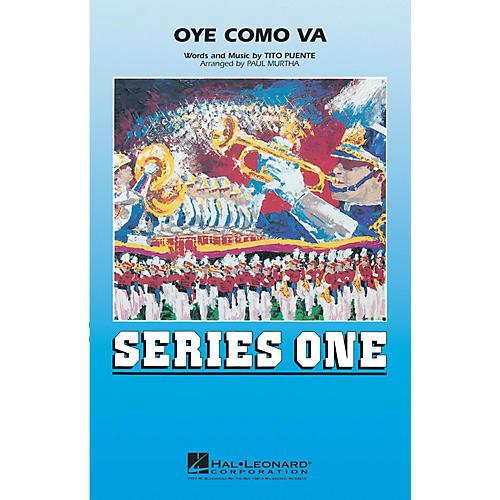 Hal Leonard Oye Como Va Marching Band Level 2 Arranged by Paul Murtha