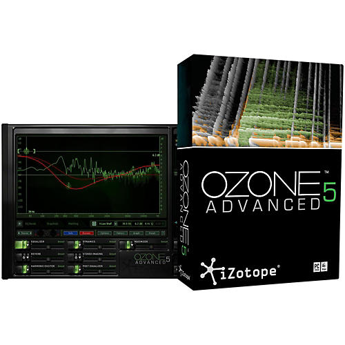 iZotope Ozone 5 Advanced Complete Mastering System-thumbnail