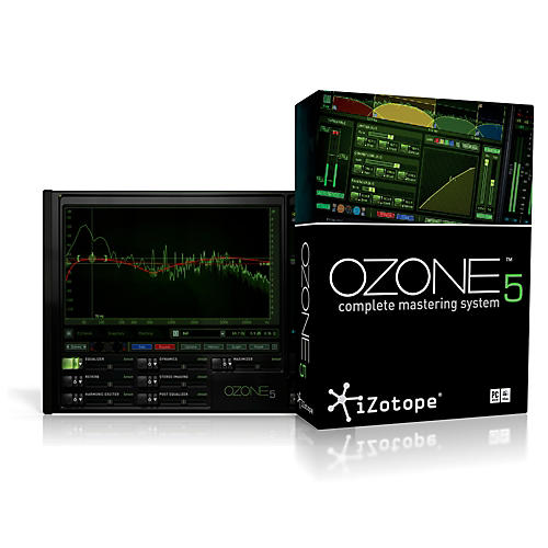 iZotope Ozone 5 Complete Mastering System