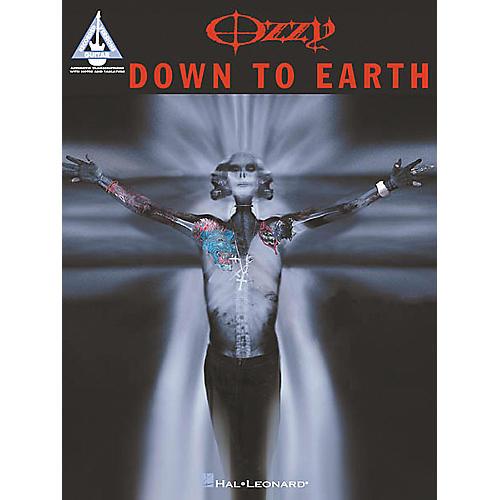 Hal Leonard Ozzy Osbourne - Down to Earth Guitar Tab Book-thumbnail