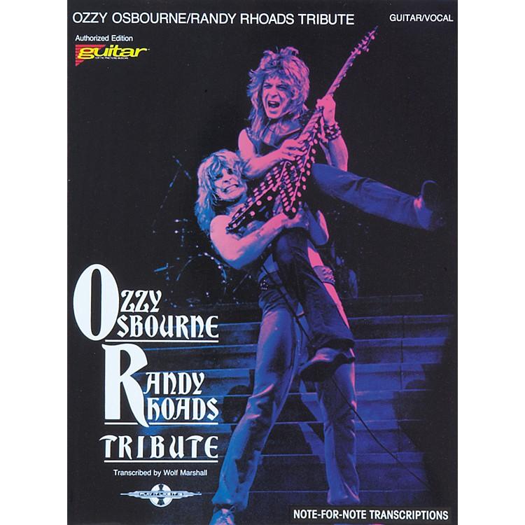 Hal LeonardOzzy Osbourne / Randy Rhoads Tribute Guitar Tab Songbook