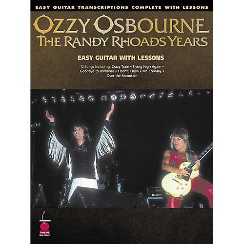 Cherry Lane Ozzy Osbourne - The Randy Rhoads Years Book
