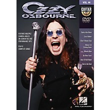 Hal Leonard Ozzy Osbourne (Guitar Play-Along DVD Volume 44) Guitar Play-Along DVD Series DVD by Ozzy Osbourne