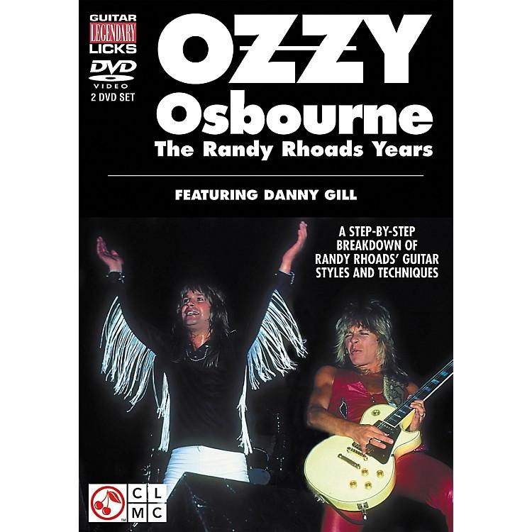 Cherry LaneOzzy Osbourne: The Randy Rhoads Years - Legendary Guitar Licks (2-DVD Set)