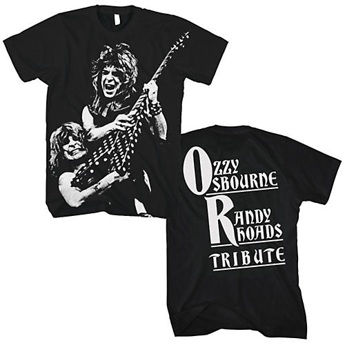 FEA Merchandising Ozzy and Randy - Tribute T-Shirt
